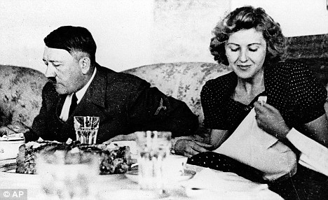 Hitler Had Shocking Table Manners Gorged On Cake And