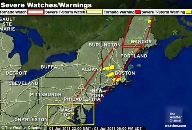 nandconphora  map of springfield massachusetts Forecast  This Weather Channel map showing the tornado watch which was in  force all along the East Coast until 8pm yesterday
