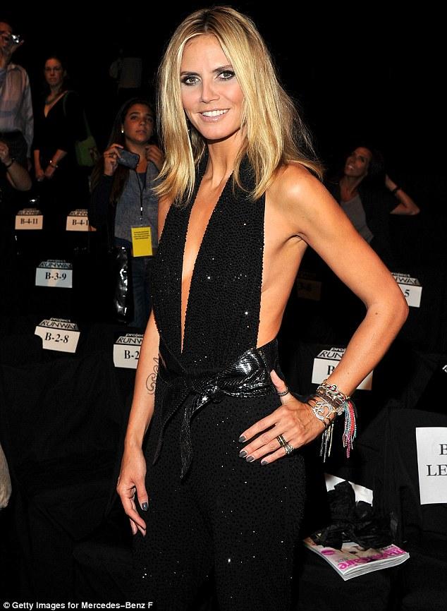 Heidi Klum Shoulder Length Hair