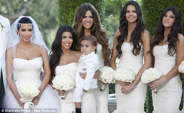Khloe Kardashian Bridesmaid Gowns