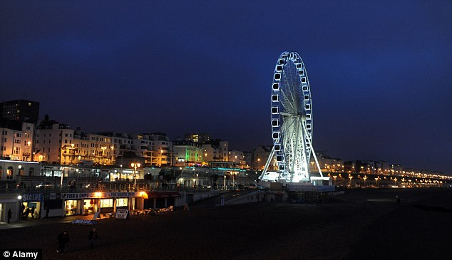 The Brighton Wheel A Grand Day Out Daily Mail Online