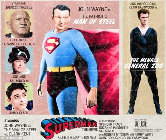 Cast Superman 1950 S