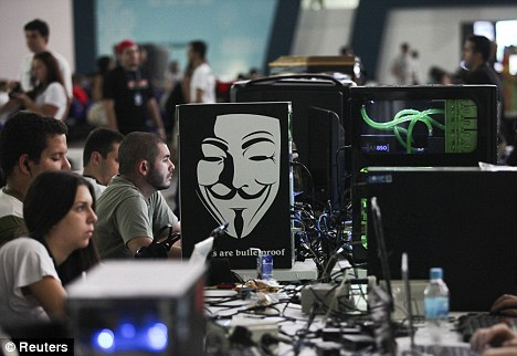 CIA website forced offline as hacking group Anonymous ...