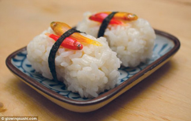 Glow in the dark sushi made from genetically modified fish ...