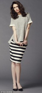 Black and white chic  How to wear the colours that never go out of     Top      29 99  hm com  Striped skirt      95  Reiss