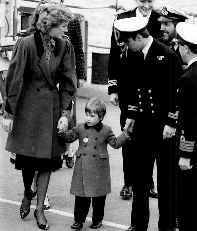Son Father Harry Diana Princess