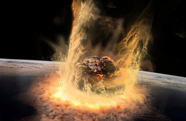Damage Meteor Hitting Earth