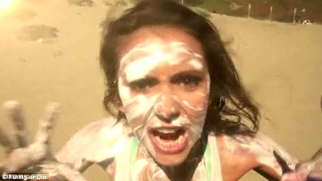 Sunscreen Face Funny