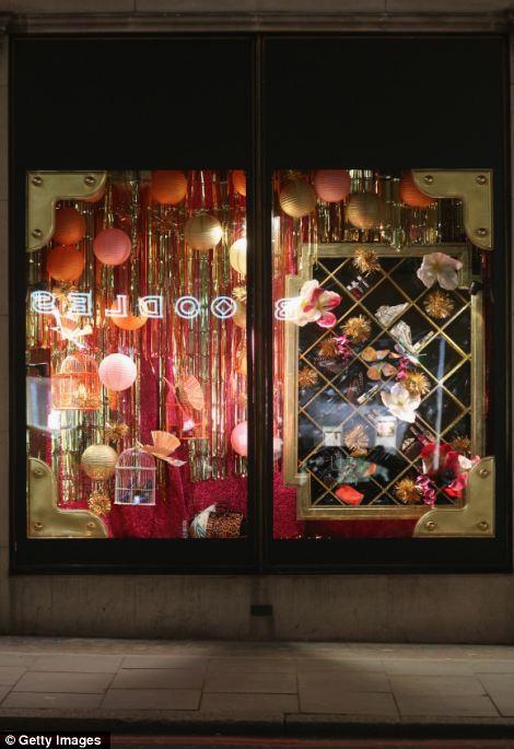 Christmas Store Window Displays