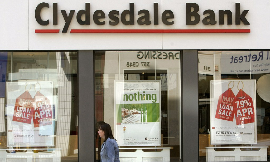 Clydesdale Bank Personal Banking