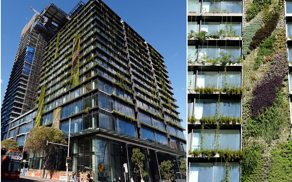 Incredible Vertical Gardens Attached To The Outside Of