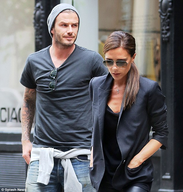 David Beckham settles into his new life as full-time dad ...