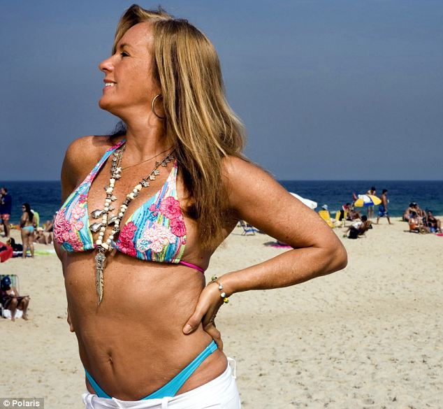 In this shoot from 2006, Helo, age 63, returned to the beach that made her famous to show off a figure that many women half her age would kill for