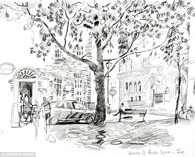 BBC's Andrew Marr: 'Knowing I was able to draw made me ...