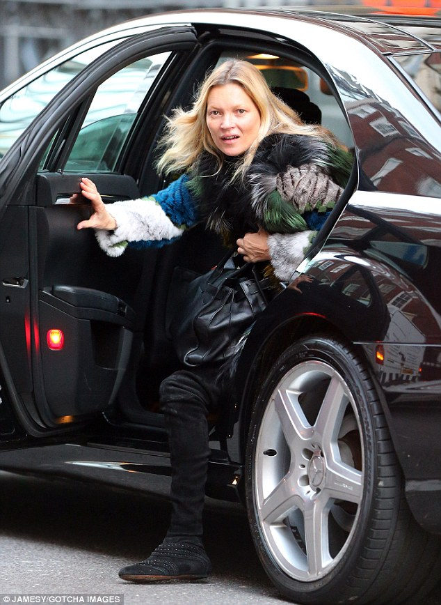 Kate Moss Looks Less Than Glossy After Playboy Bunny Shoot