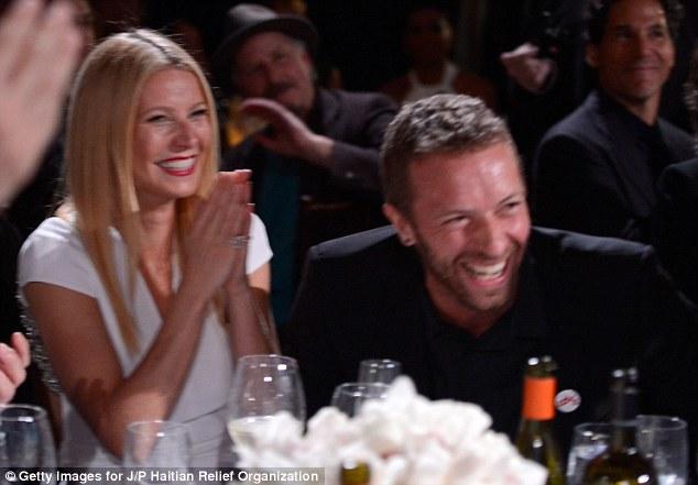 Gwyneth Paltrow and husband Chris Martin put on rare show ...