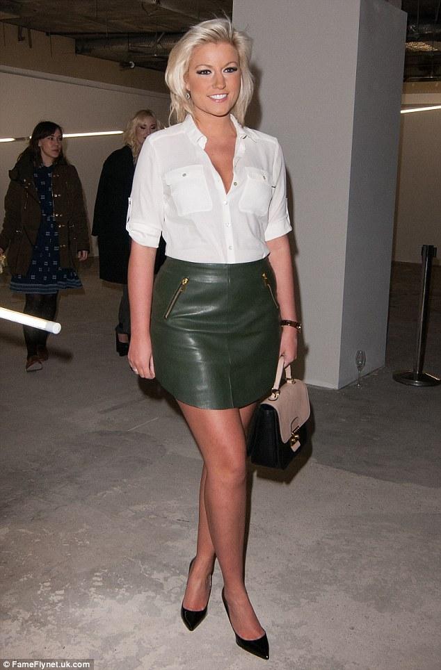 Mistress Skirt Leather Mini