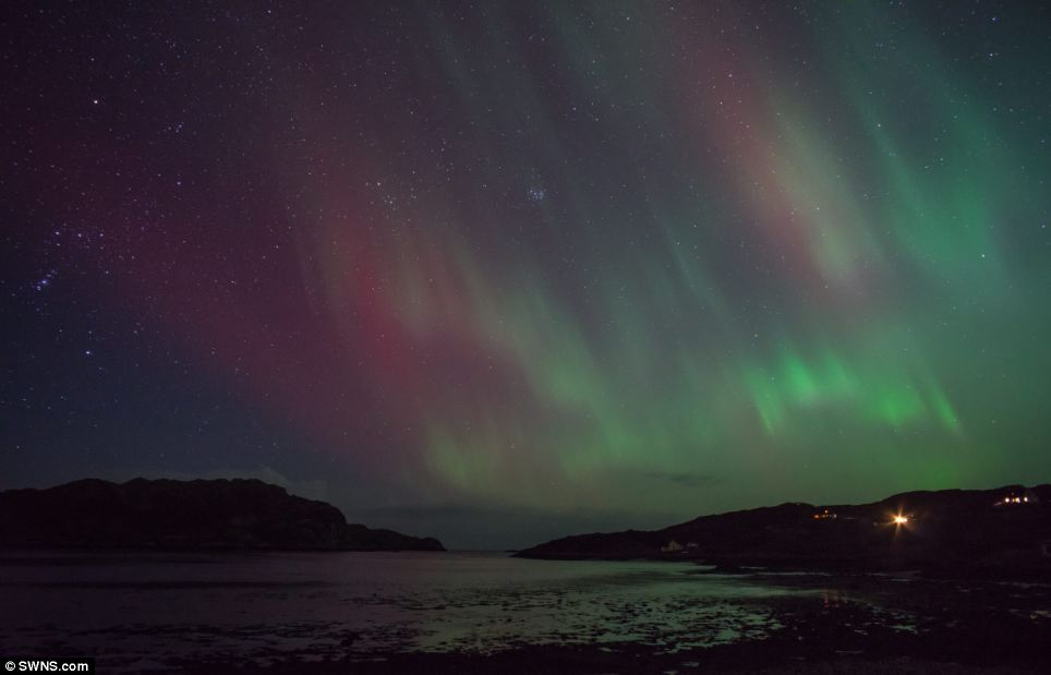 Northern Lights Aberdeen Lyrics