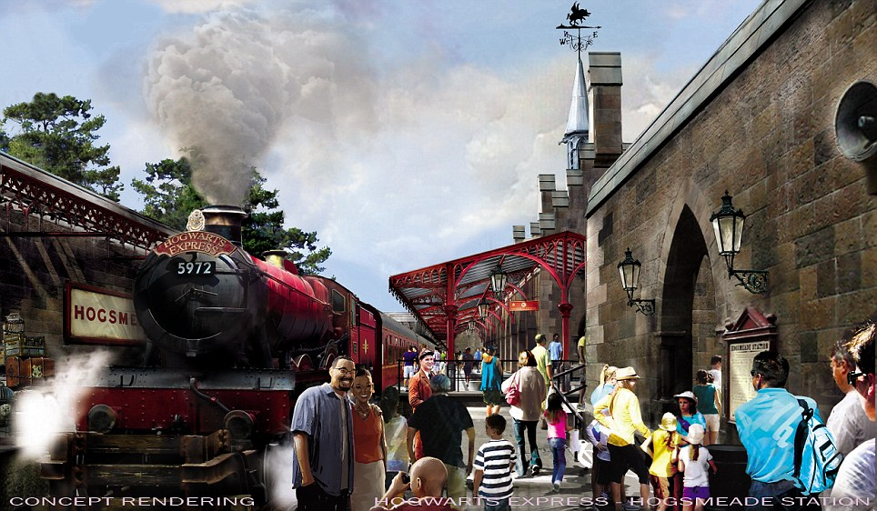 The latest Harry Potter news and pictures on the new park ...