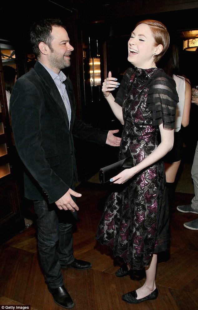 Karen Gillan enjoys reunion with Doctor Who's Matt Smith ...