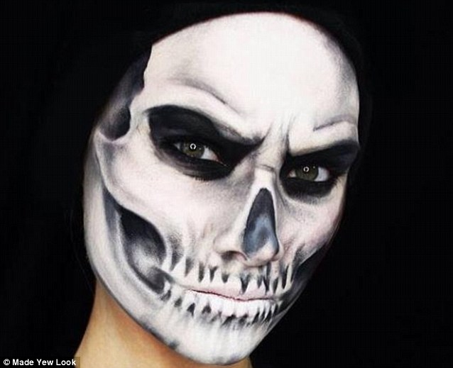 Realistic Draw Skull How