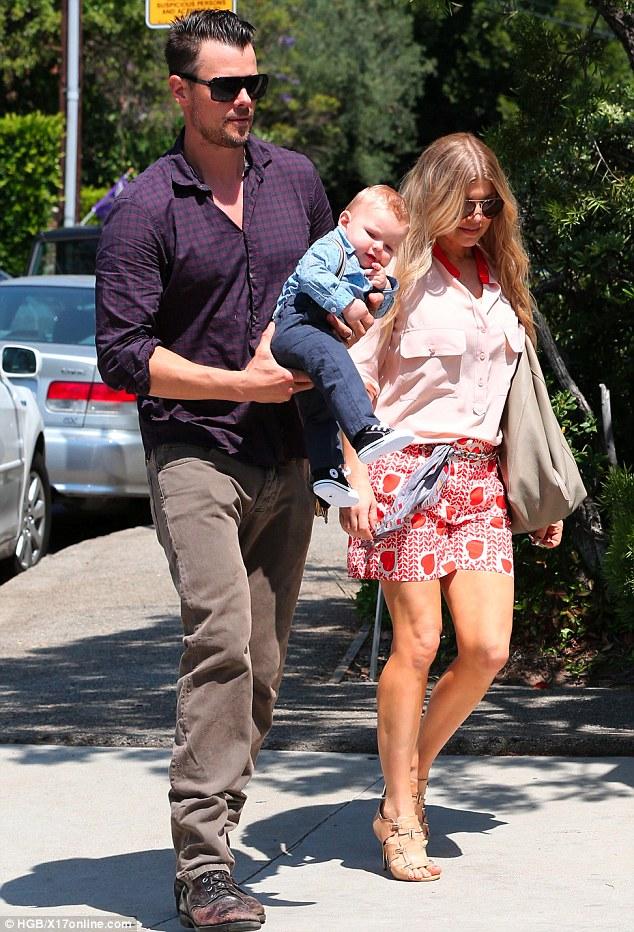 And Baby Duhamel Axl Josh Fergie
