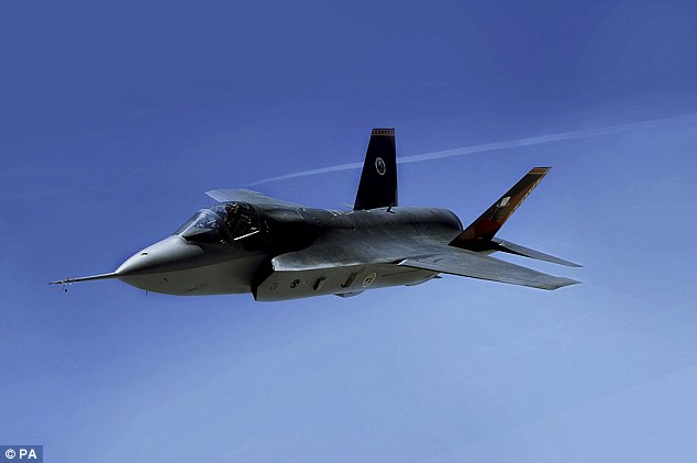 F 35 Joint Strike Fighter 3 View