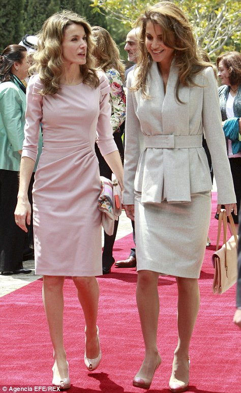 Queen Rania Jordan And Husband