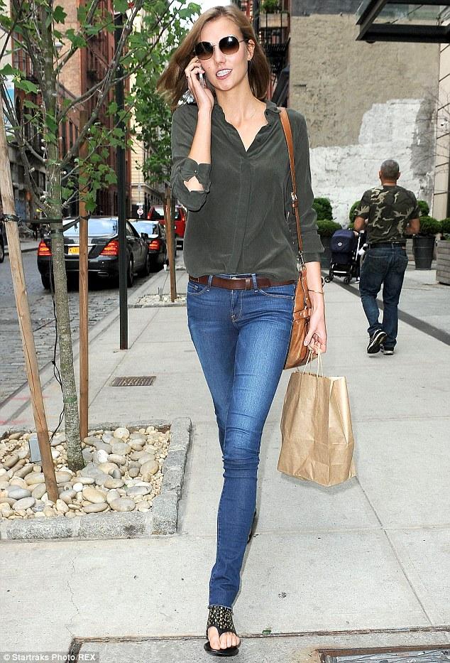 Victoria Secret Blue Jeans