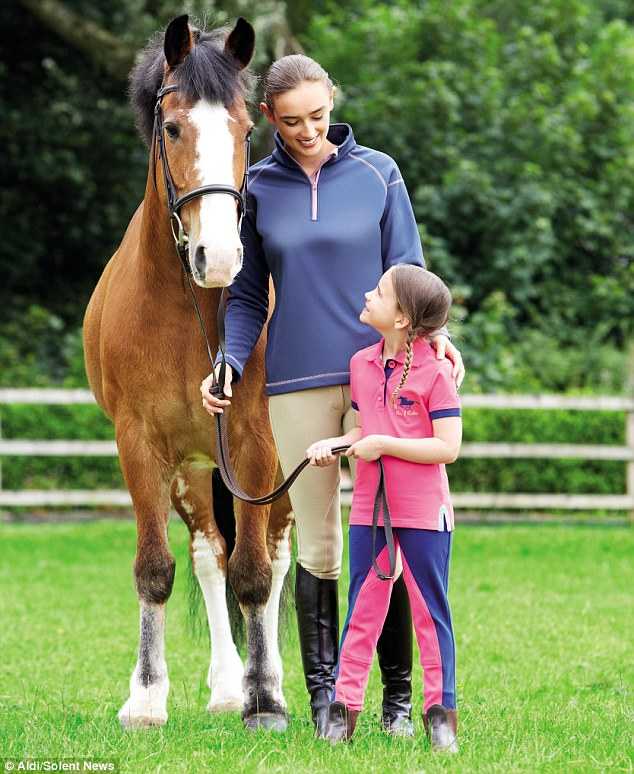 Aldi Launches Range Of Equestrian Clothing Targeting The
