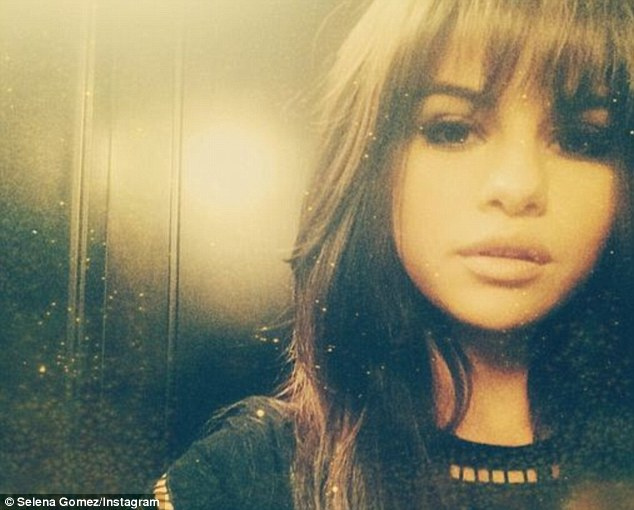 Selena Gomez debuts new fringe haircut on Instagram before ...