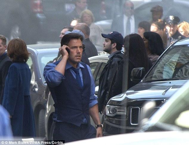 Batman Vs Superman Filming Detroit