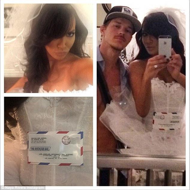 Naya Rivera dresses up as a 'mail order bride' for ...