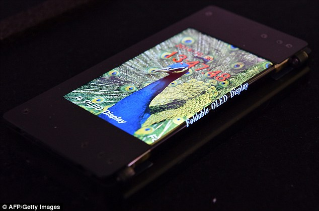 Foldable Galaxy Phone