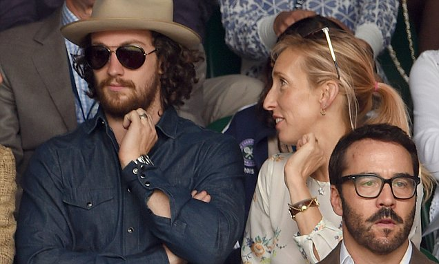 Aaron Taylor-Johnson rocks cowboy chic for Wimbledon men's ...