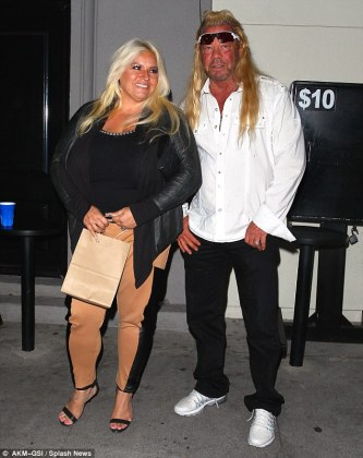 Dog the Bounty Hunter and wife Beth  sued for  30M by fellow     Mutiny on the bounty hunter  Duane  Dog  Chapman and his wife Beth are