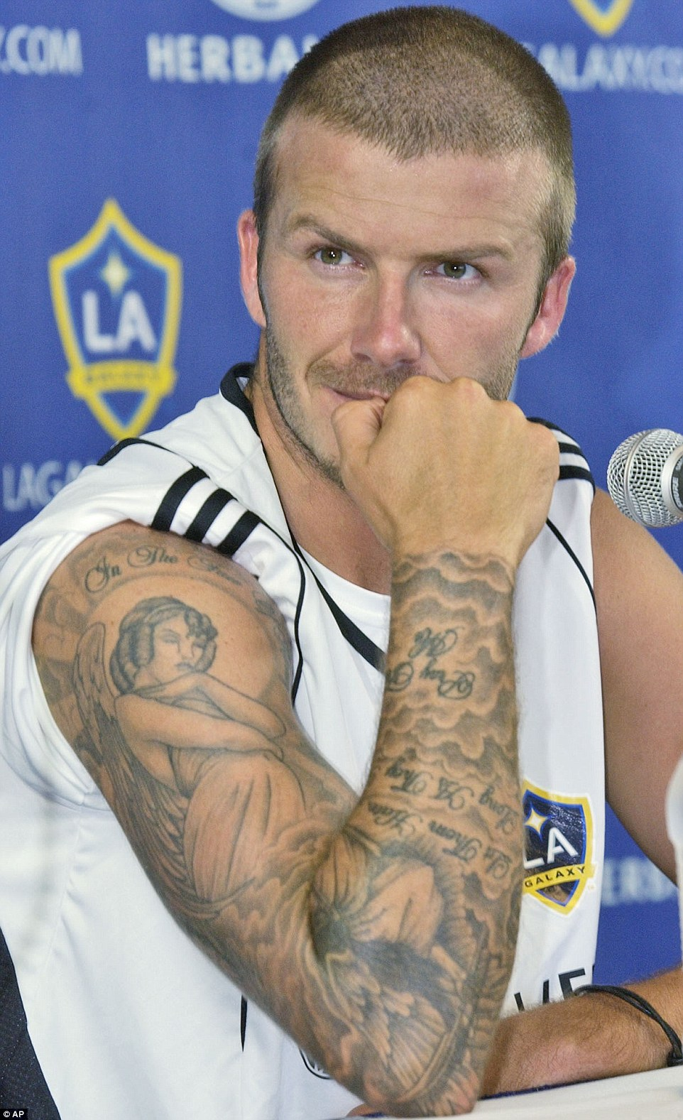 David Beckham's 40 tattoos and the special meaning behind ...