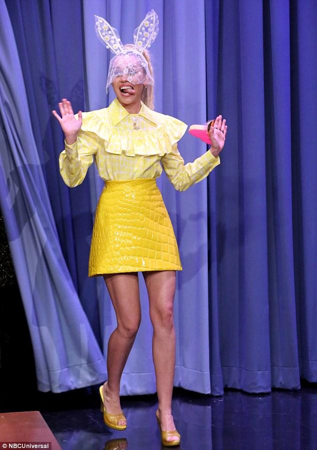 Jimmy Fallon Miley Cyrus Bunny