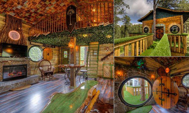 Hobbit Tree House Rental In Black Hills South Dakota Wows