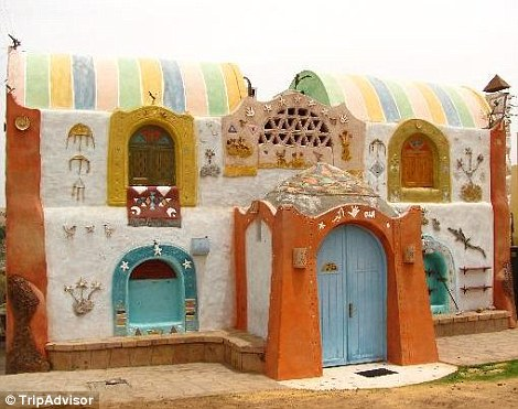 Anakato Nubian Guest House Is An Oasis Of Colour In The