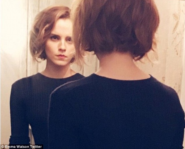 Emma Watson debuts gorgeous ombré colouring in her tousled ...