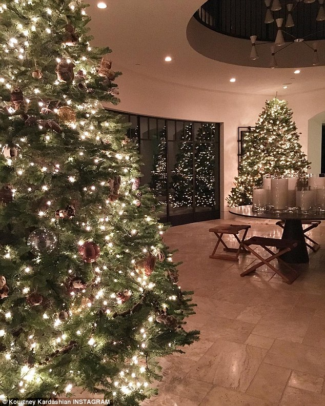 Kourtney Kardashian House Interior
