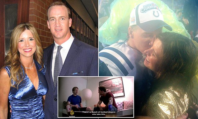 Nfl S Peyton Manning Admits His Wife Was Client Of Hgh Lab