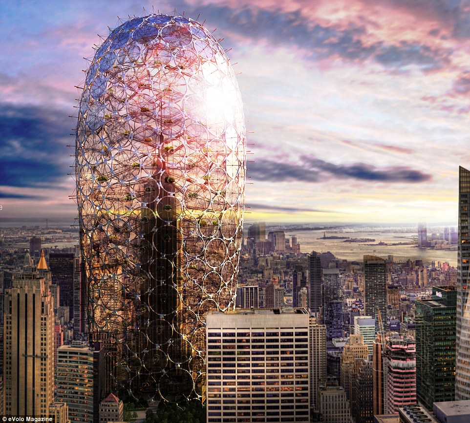 The New York Horizon project is eVolo Magazine 2016 ...