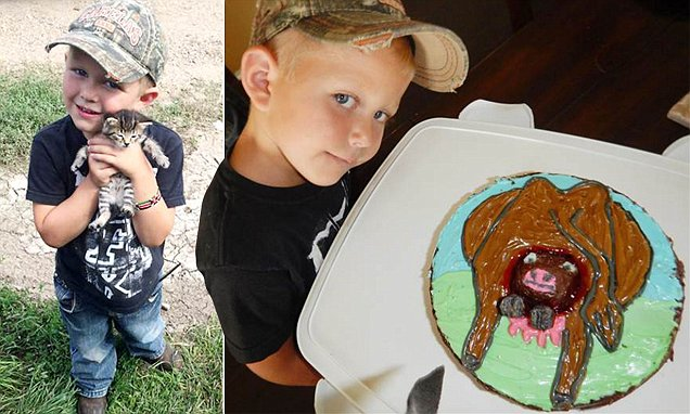 Boy Obsessed With Farms Gets A Birthday Cake With A