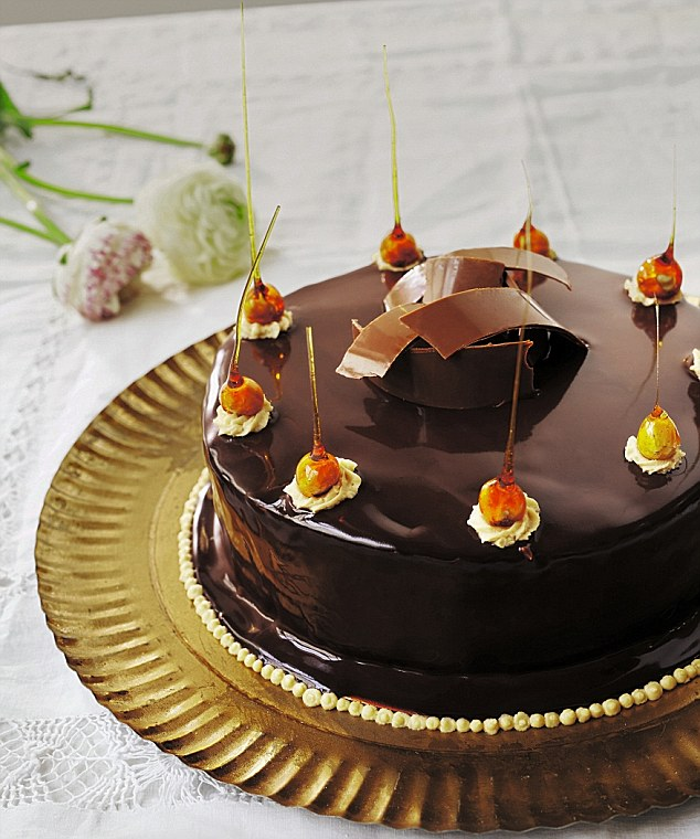 Ultimate Chocolate Mousse Cake