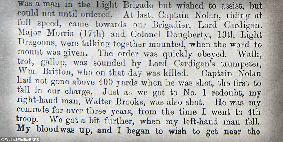 Charge Light Brigade Poem