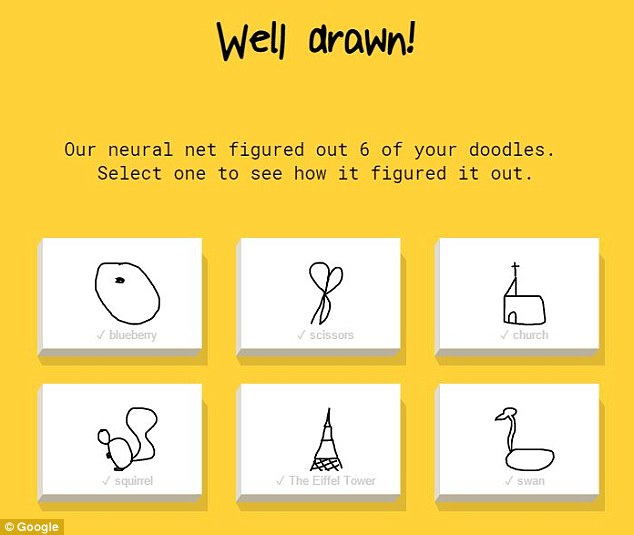 Google game 'Quick, draw!' uses AI to guess what you're ...