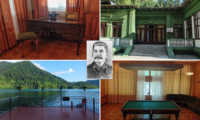 Inside Joseph Stalin S Lakeside Summer Home On Abkhazia