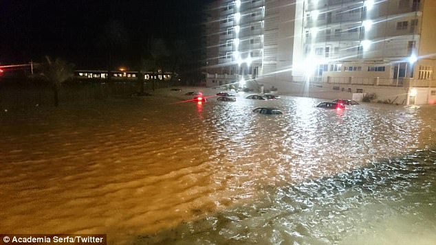 Alicante Spain Is Hit By Its Worst Floods In 20 Years Daily Mail Online